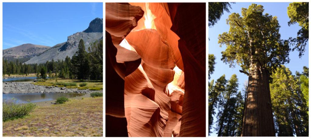Národní parky USA - Californie